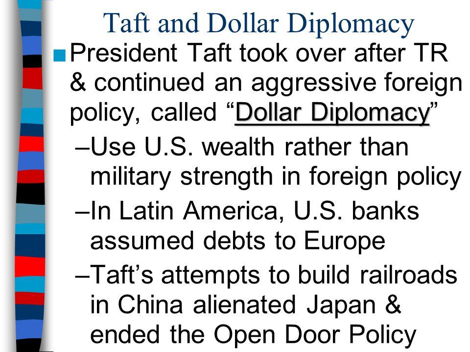 Taft and Dollar Diplomacy