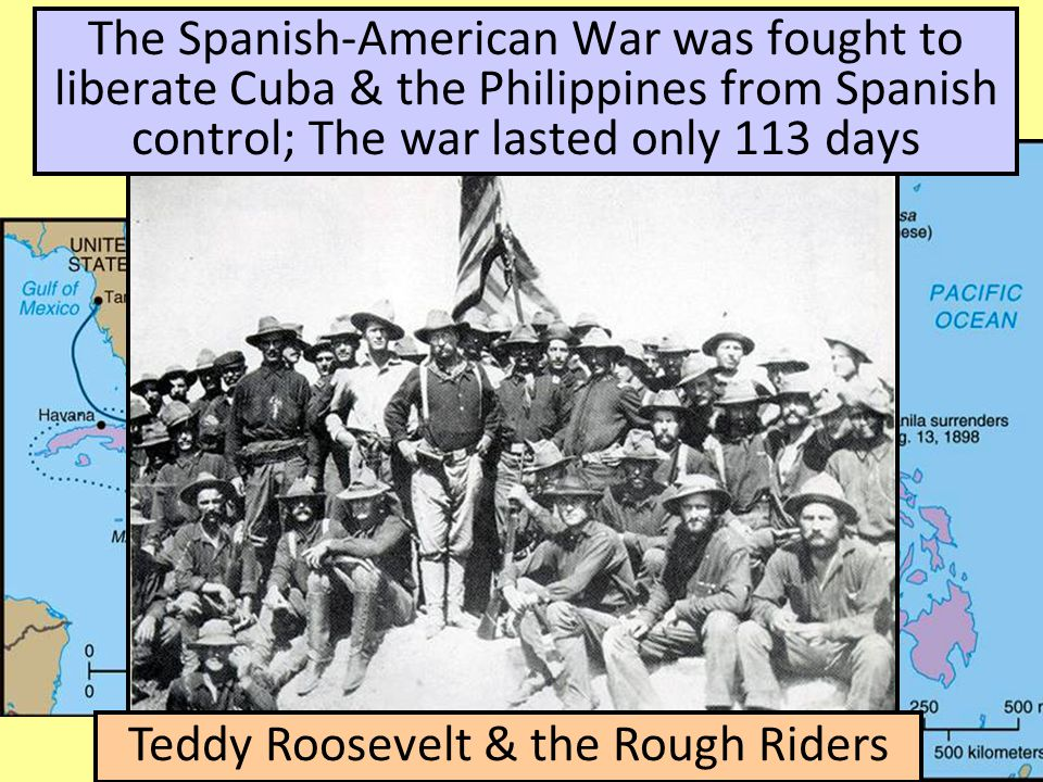 Teddy Roosevelt & the Rough Riders