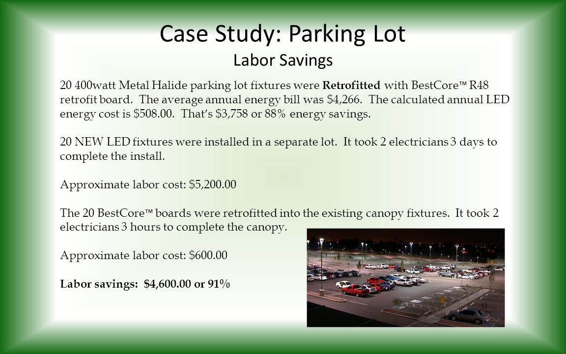 Case Study: Parking Lot Labor Savings