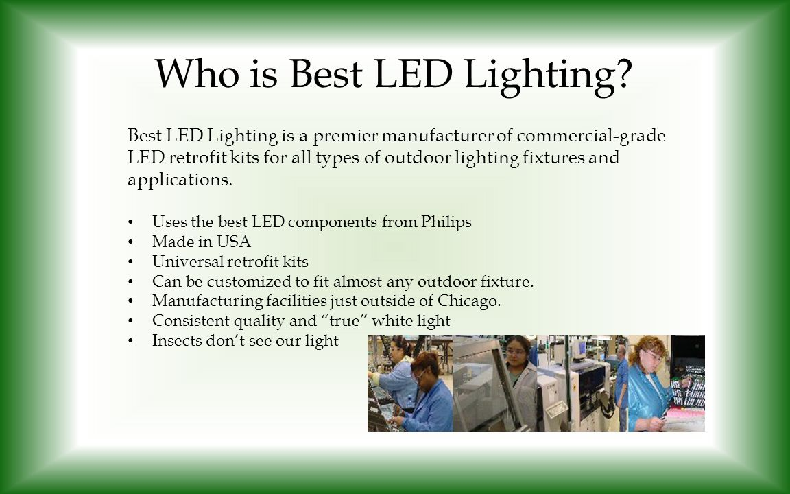 Who is Best LED Lighting