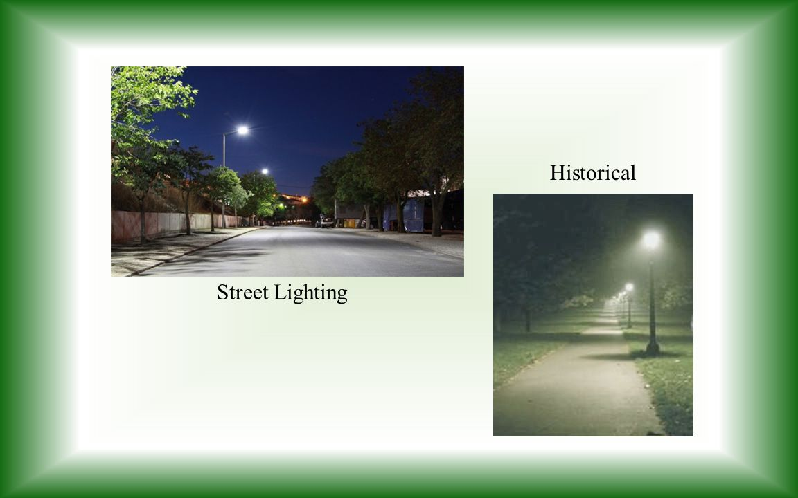 Historical Street Lighting
