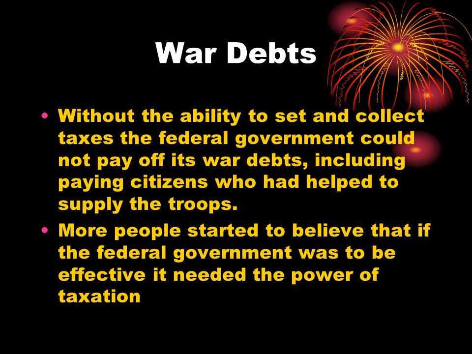 War Debts