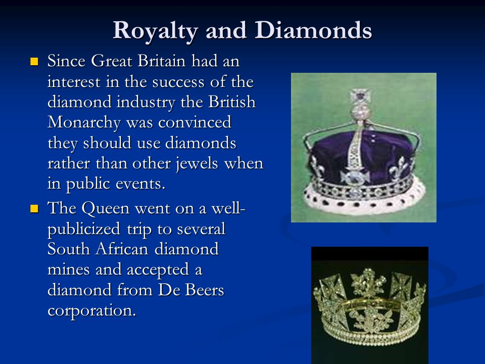 Royalty and Diamonds