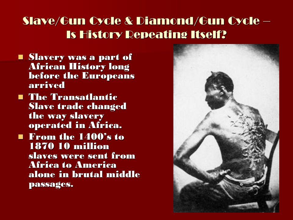 Slave/Gun Cycle & Diamond/Gun Cycle – Is History Repeating Itself