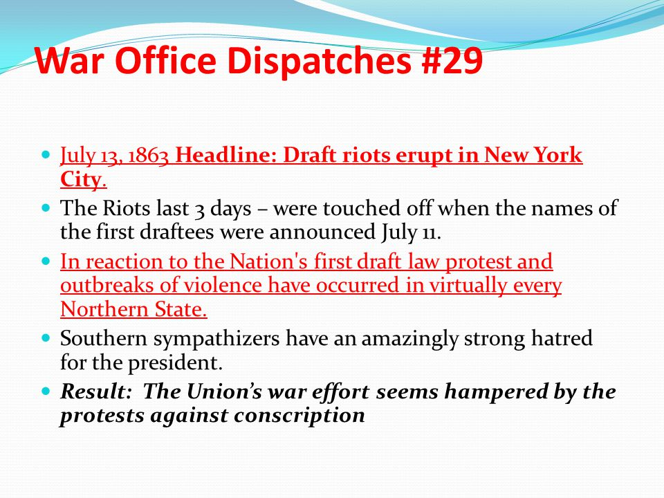 War Office Dispatches #29