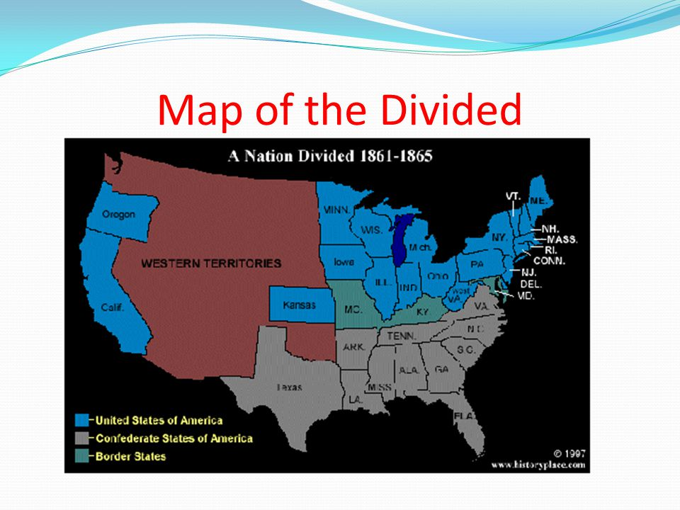 Map of the Divided