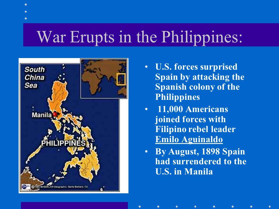 War Erupts in the Philippines: