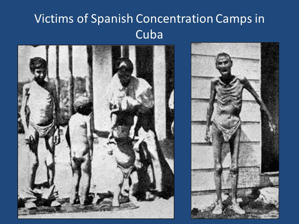 Victims of Spanish Concentration Camps in Cuba