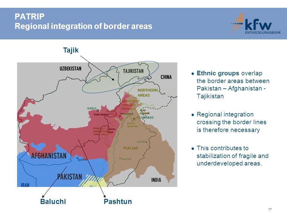 PATRIP Regional integration of border areas