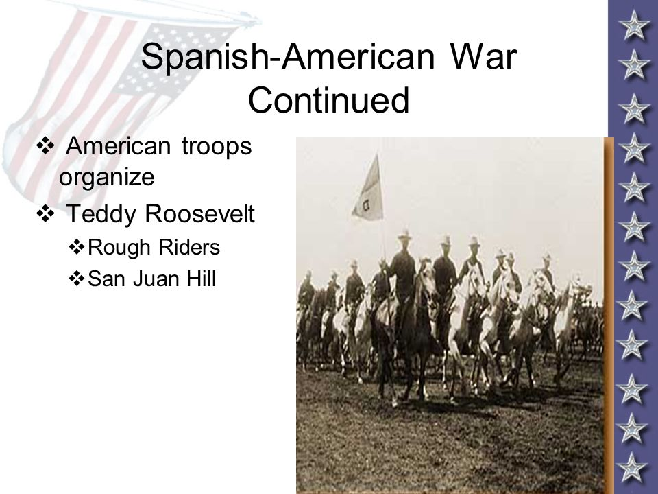 Spanish-American War Continued