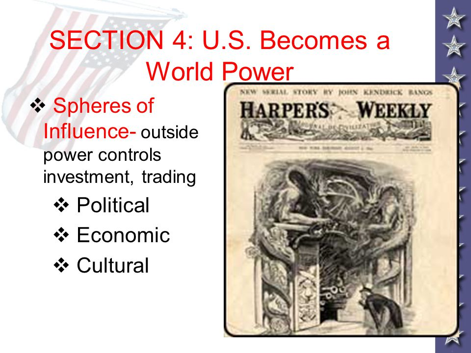 SECTION 4: U.S. Becomes a World Power