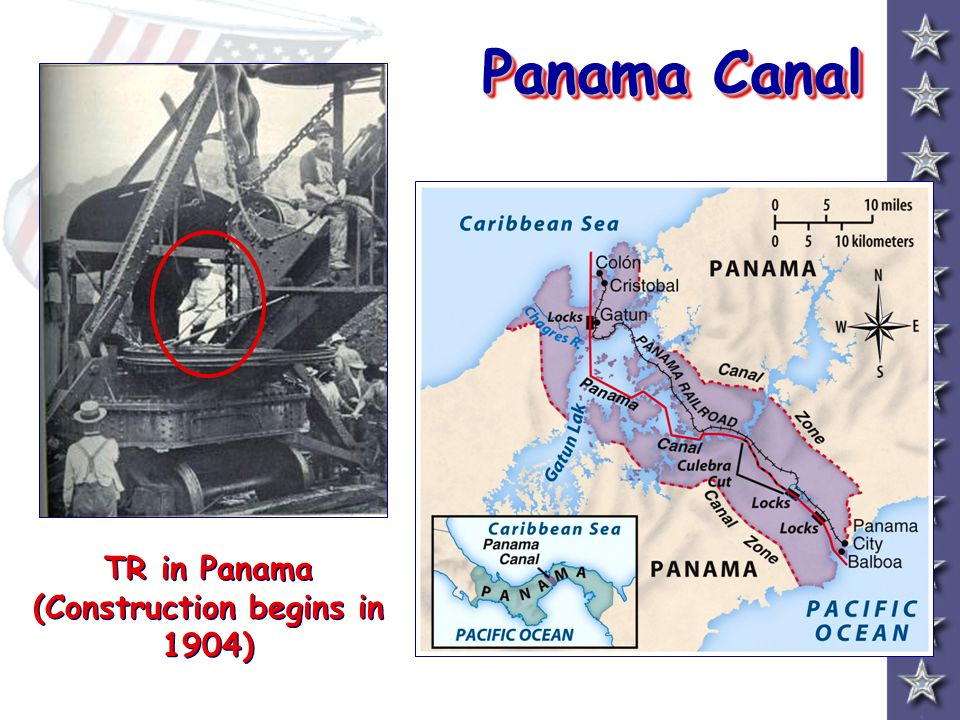 TR in Panama (Construction begins in 1904)