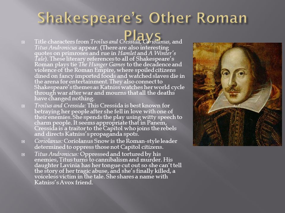 Shakespeare's Other Roman Plays