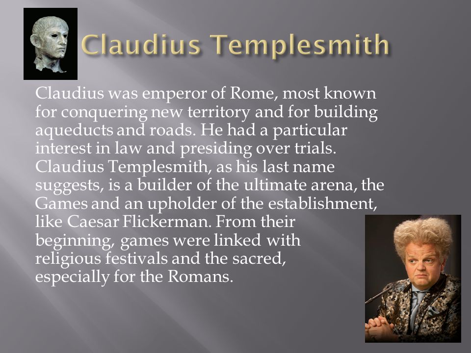 Claudius Templesmith