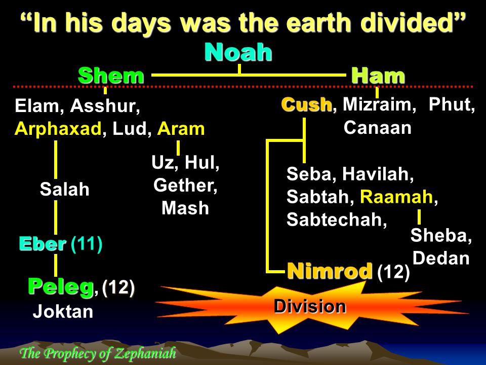 Shem Elam, Asshur, Arphaxad, Lud, Aram