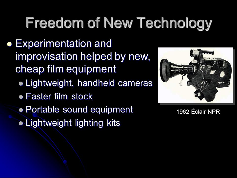 Freedom of New Technology