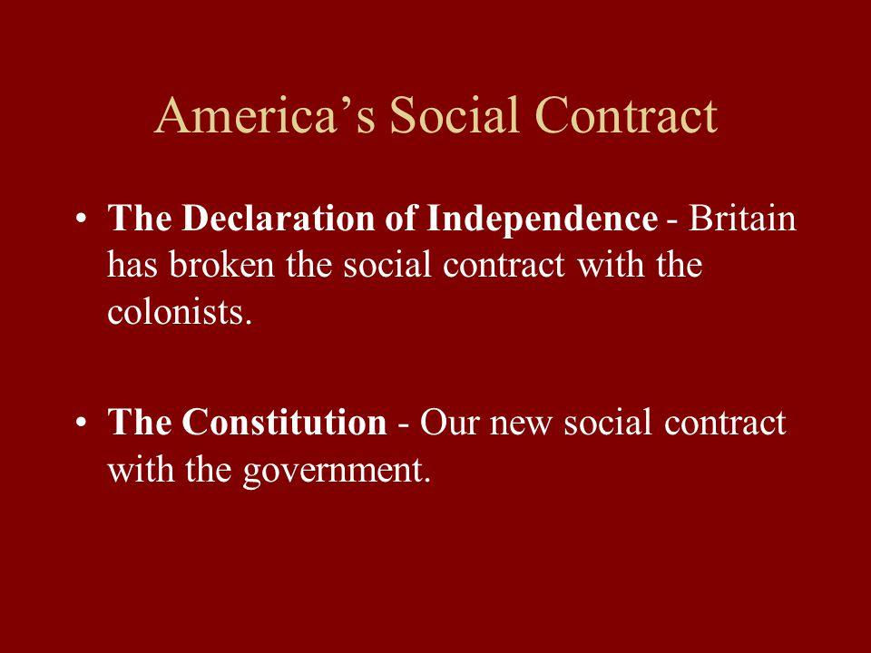 America's Social Contract