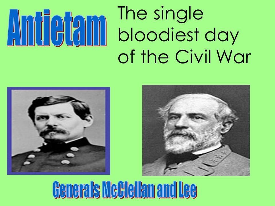 Generals McClellan and Lee