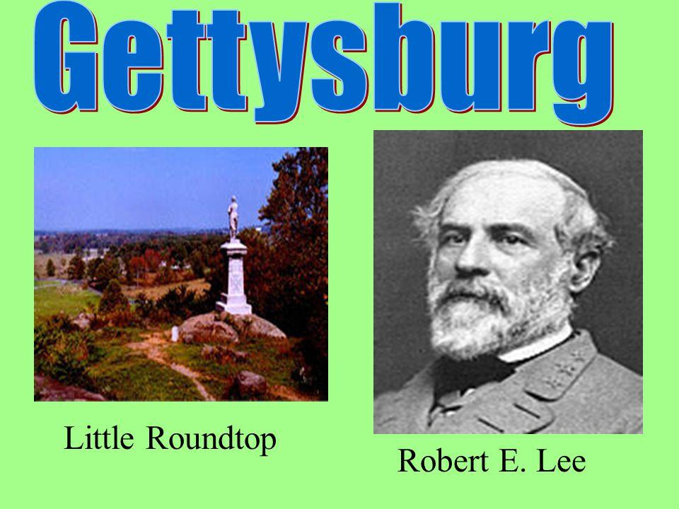 Gettysburg - Little Roundtop Robert E. Lee