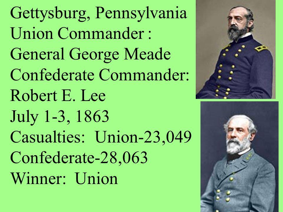 Gettysburg, Pennsylvania