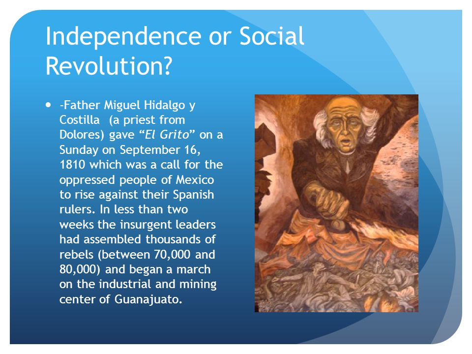 Independence or Social Revolution