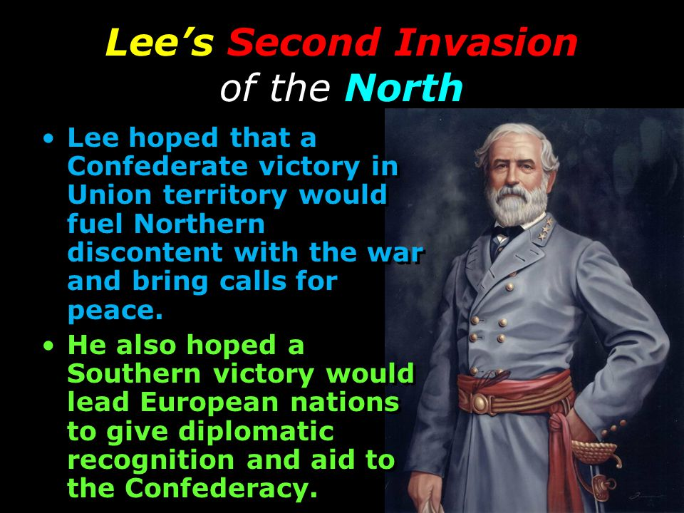 Lee's Second Invasion of the North