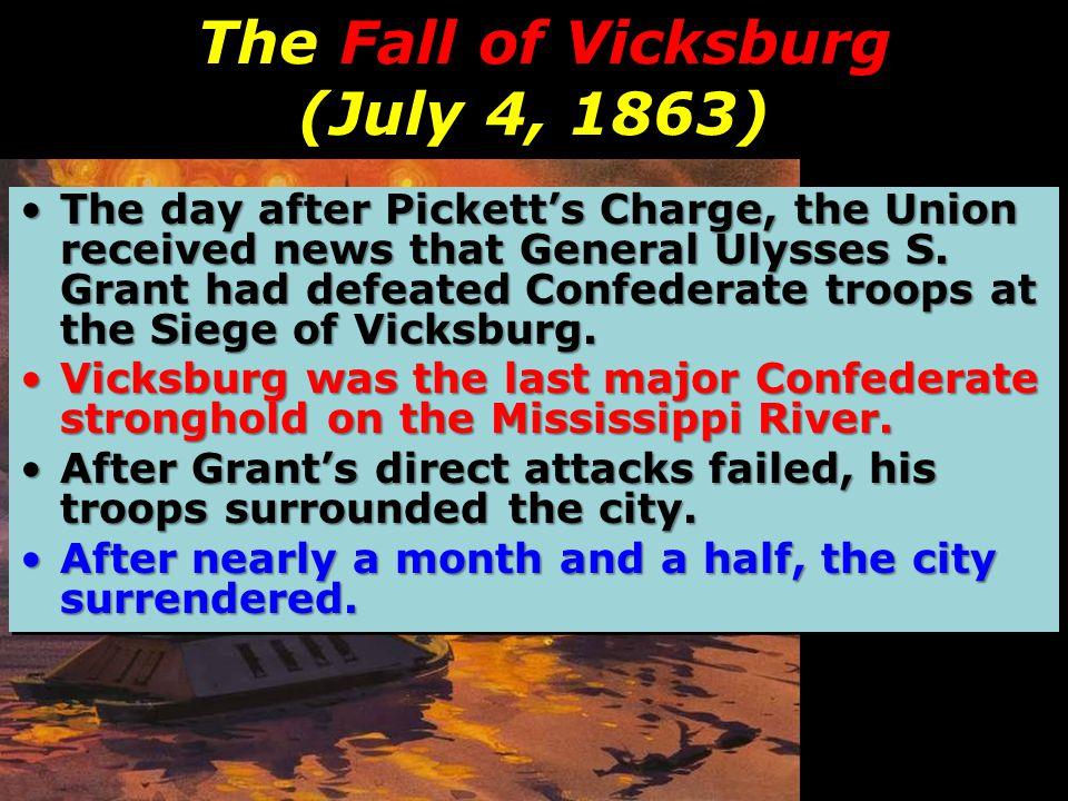 The Fall of Vicksburg (July 4, 1863)