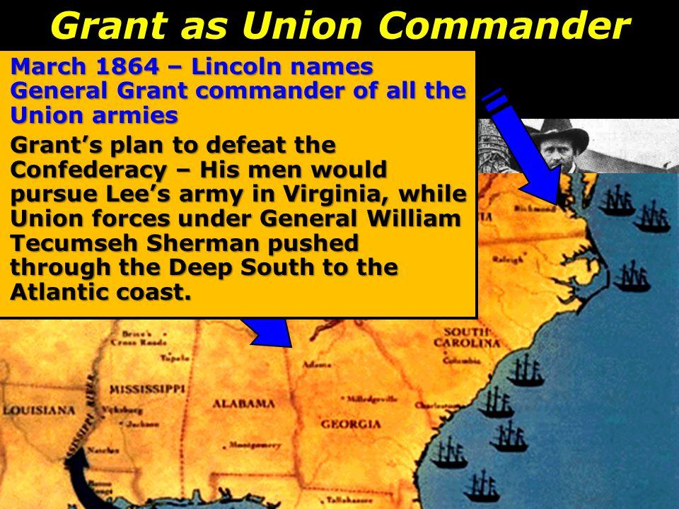 Grant as Union Commander