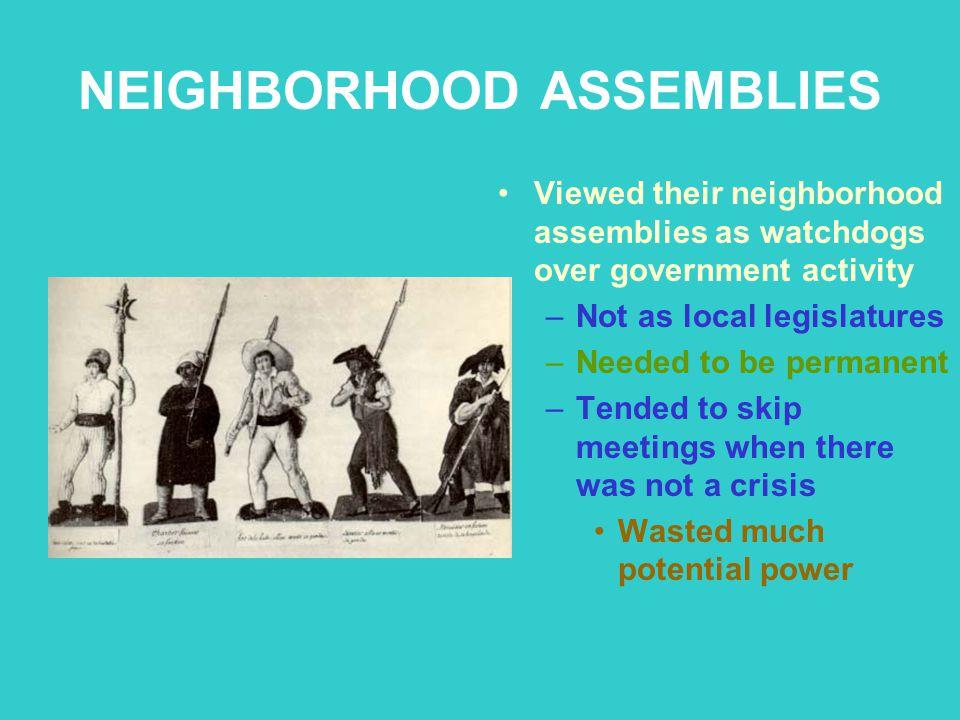 NEIGHBORHOOD ASSEMBLIES