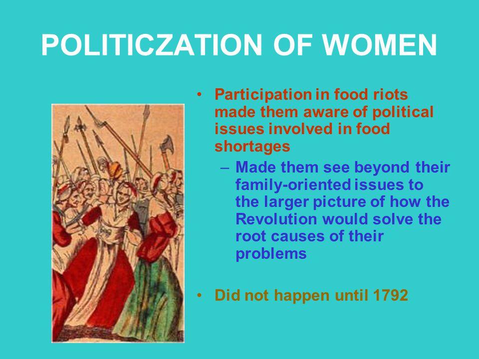 POLITICZATION OF WOMEN