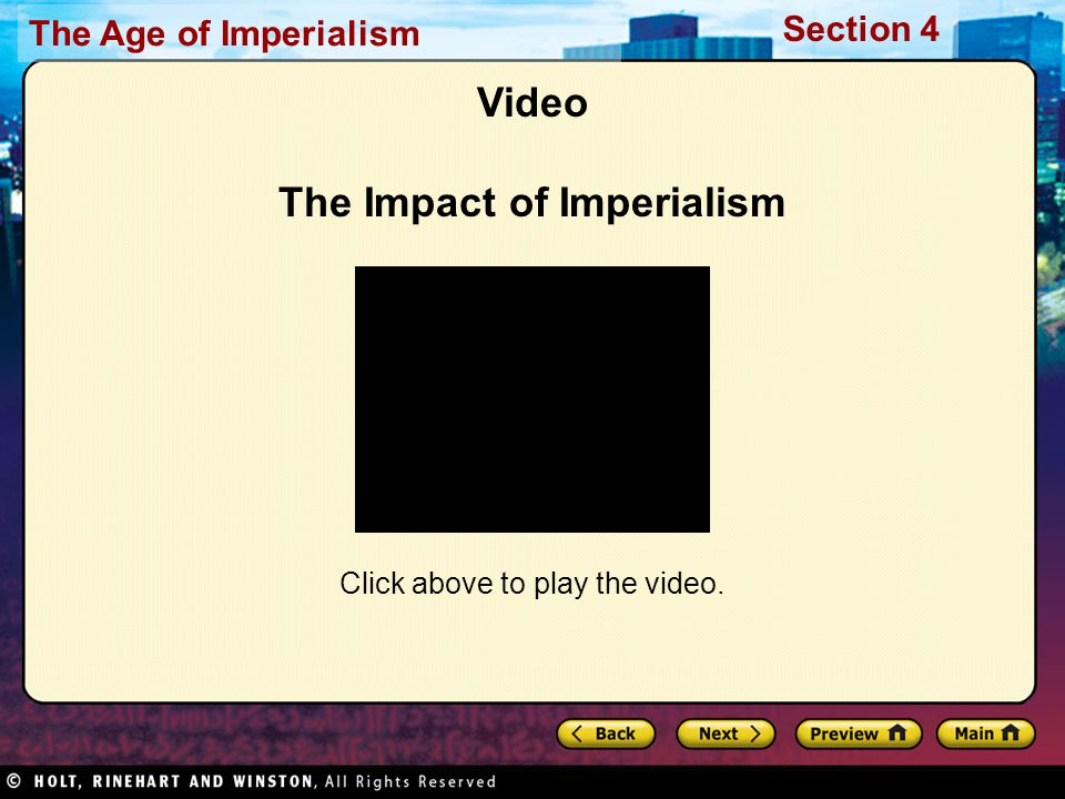 Video The Impact of Imperialism