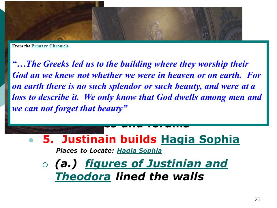 II. Cont. 3. This code becomes known as the Justinian Code