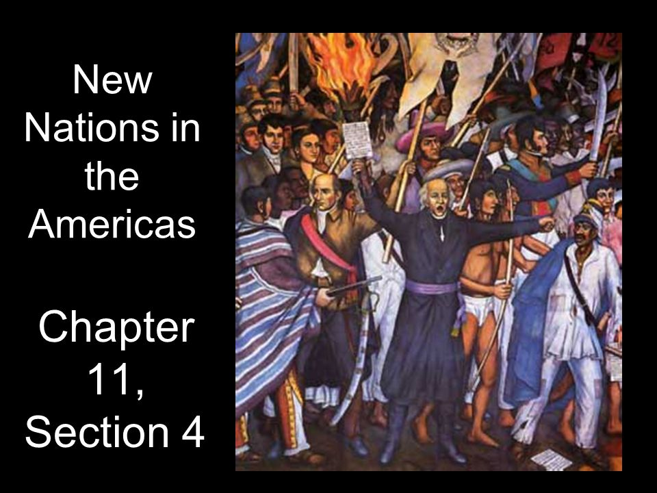 New Nations in the Americas