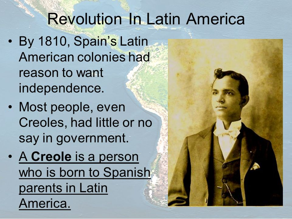 Revolution In Latin America