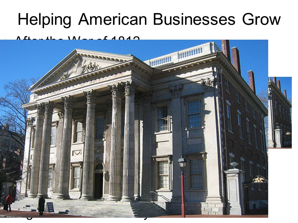 Helping American Businesses Grow