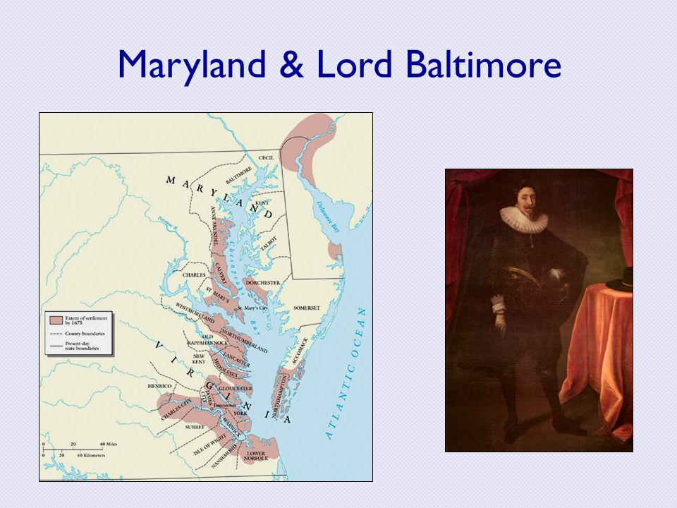 Maryland & Lord Baltimore