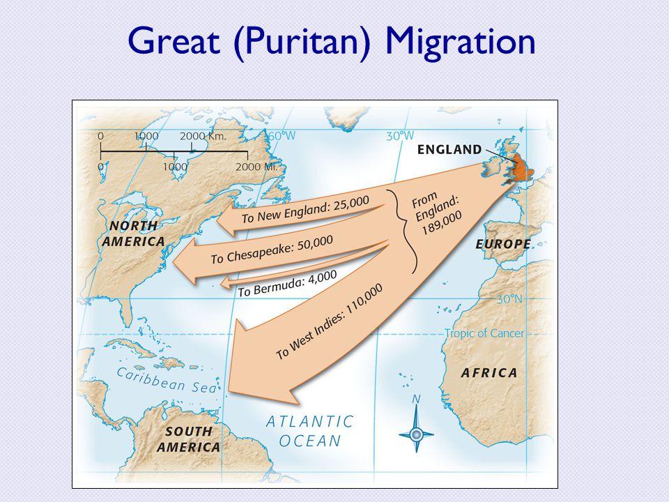 Great (Puritan) Migration