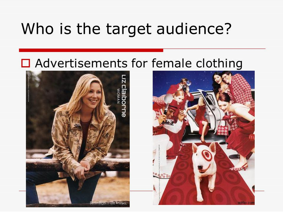 Who is the target audience
