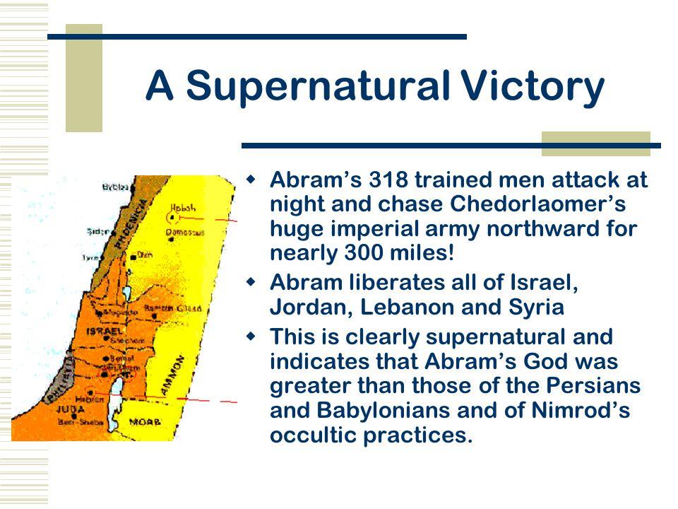 A Supernatural Victory