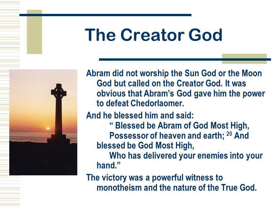 The Creator God