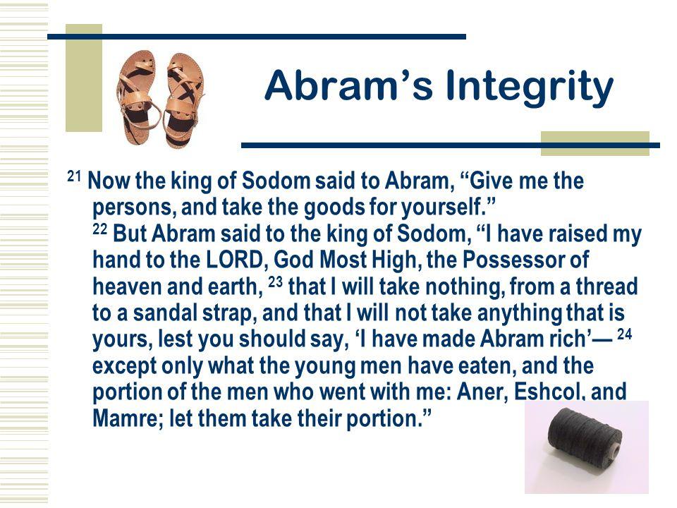 Abram's Integrity