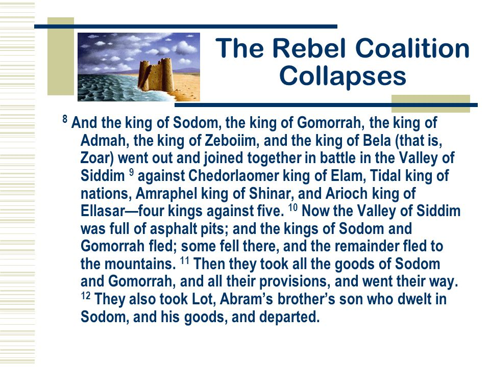 The Rebel Coalition Collapses