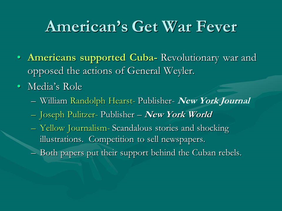 American's Get War Fever