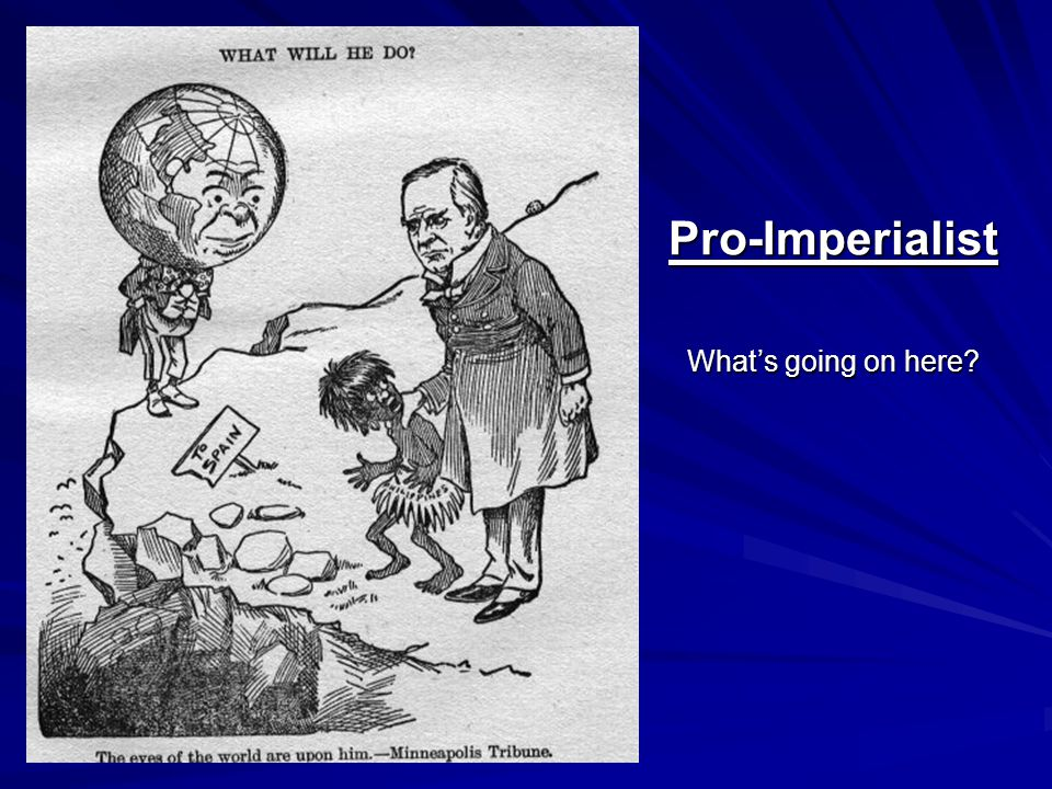 Pro-Imperialist What's going on here