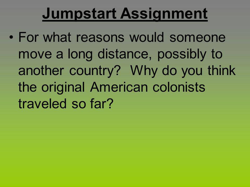 Jumpstart Assignment