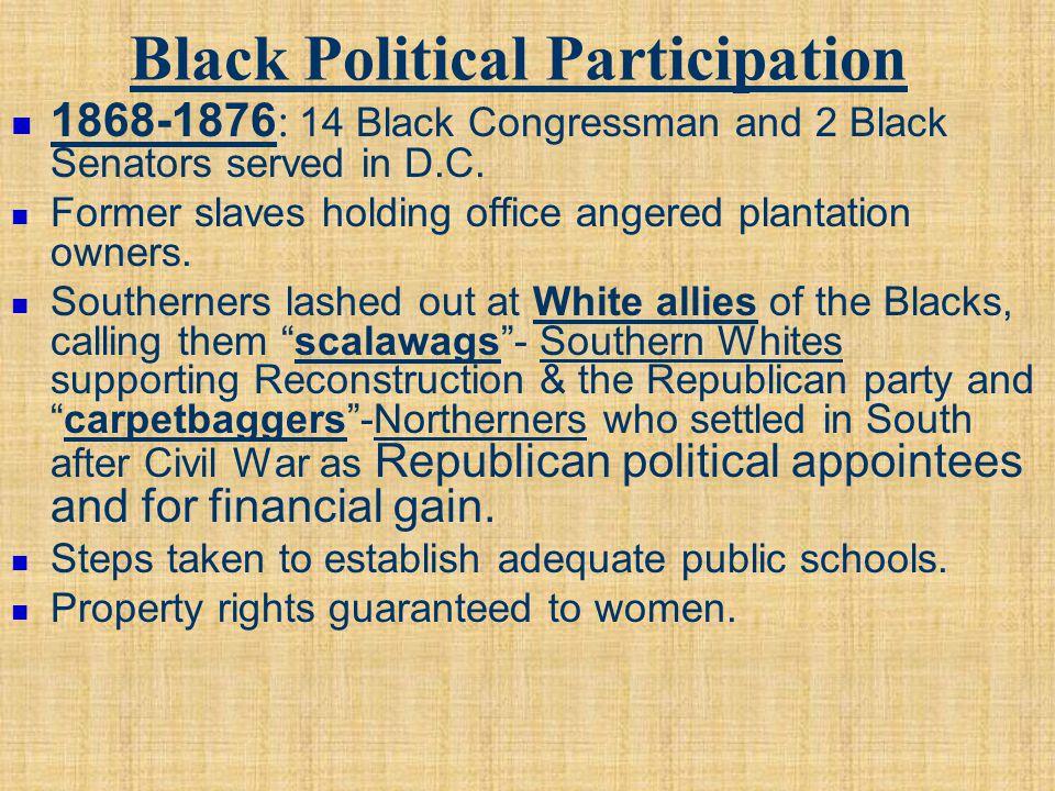 Black Political Participation