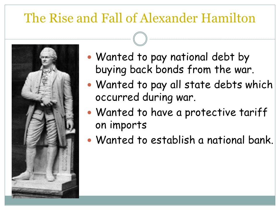 The Rise and Fall of Alexander Hamilton