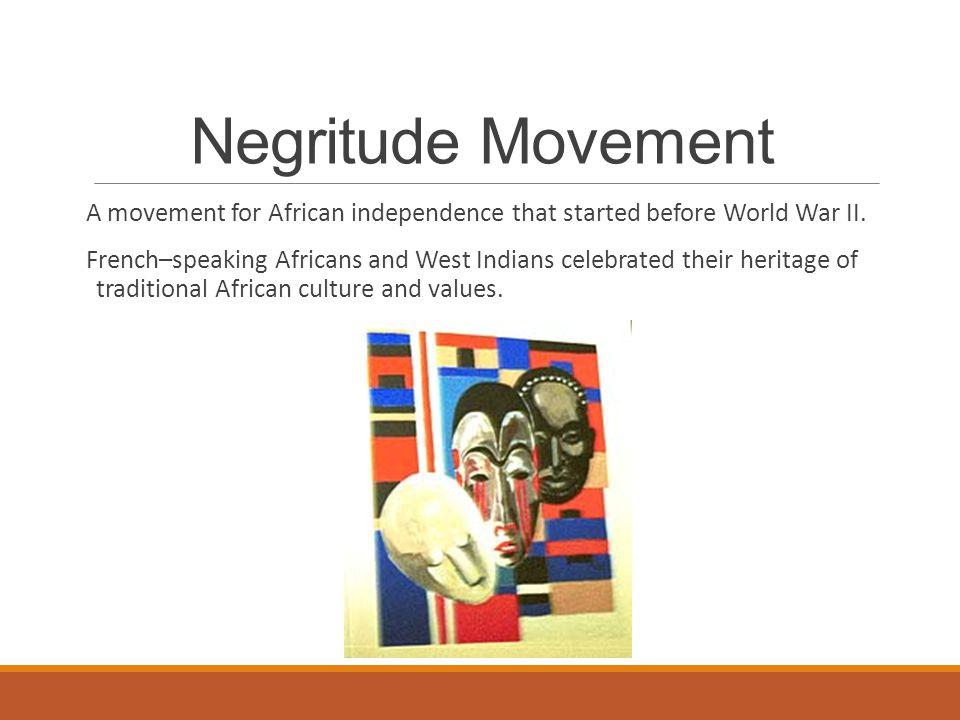 Negritude Movement
