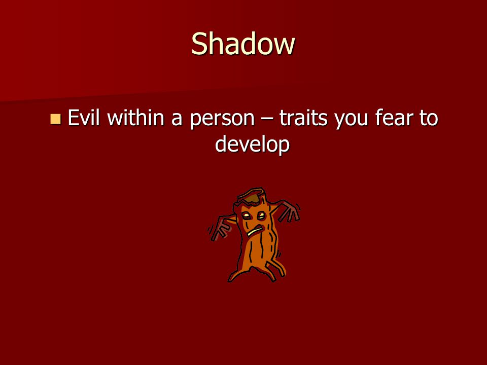 Evil within a person – traits you fear to develop