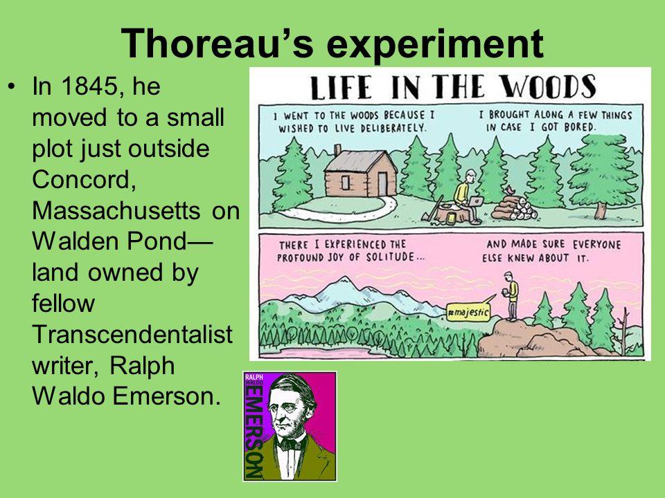 Thoreau's experiment